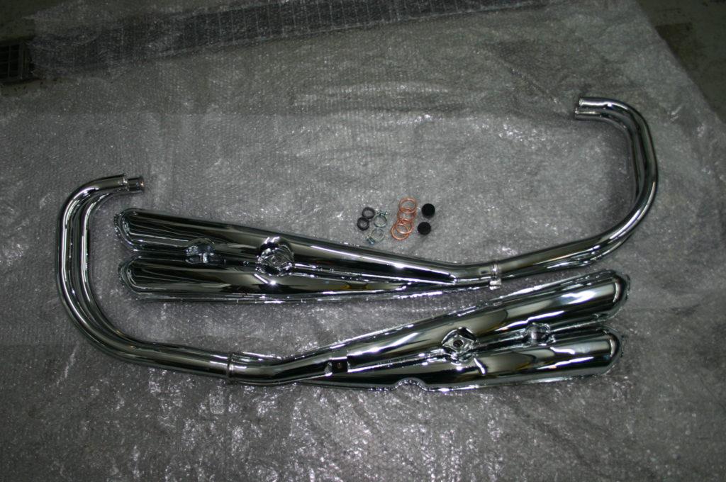 Z1 / Z900 4-4 Nachbau Auspuffanlage